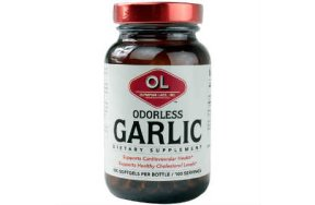 Olympian Labs Odorless Garlic (άοσμο σκόρδο) 100S.gels