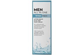 Vican Wise Men All in One After Shave & All Day Face Cream 50ml