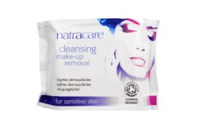 Natracare Cleansing Make Up Removal Wipes 20τμχ