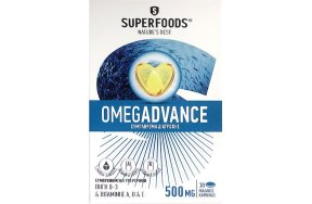 Superfoods OmegAdvance 500mg, 30caps