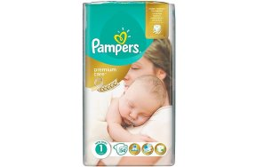 Pampers Premium Care Πάνες No 1 (Newborn:2-5Kg) 78τμχ