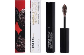 Korres Minerals Tinted Brow Mascara No 02 Medium Shade, 4ml