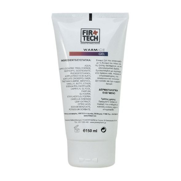 Firtech Warm-Ice Gel, 150ml