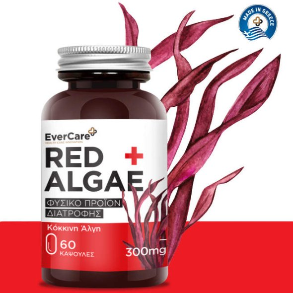 Evercare Red Algae 300mg, 60Caps