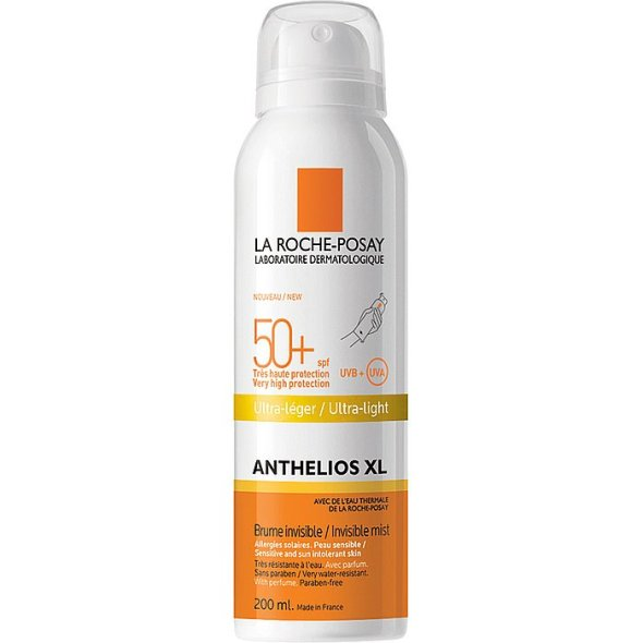 La Roche-Posay Anthelios XL Invisible Mist Ultra-Light SPF50+, 200ml