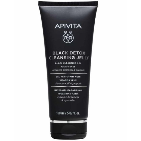 Apivita Black Detox Cleansing Jelly, 150ml