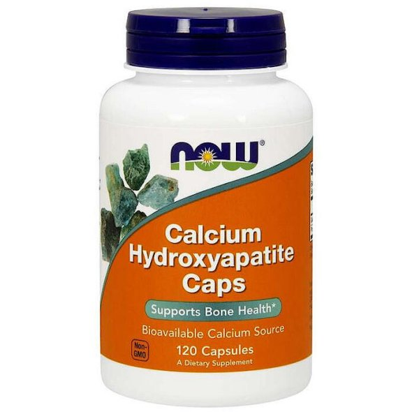Now Calcium Hydroxyapatite, 120Caps