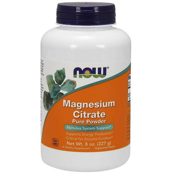 Nowfoods Magnesium Citrate Powder 227g