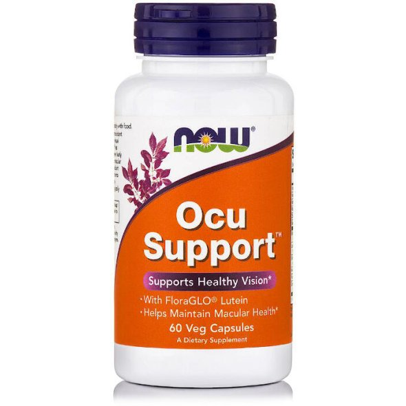 Nowfoods Ocu Supports 60 V.Caps