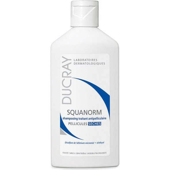 Ducray Squanorm Anti-Dandruff Treatment Shampoo Dry Dandruff 200 ml