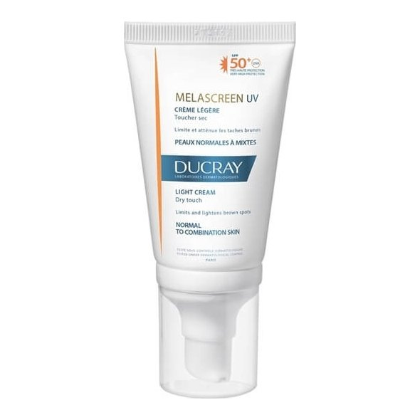 Ducray Melascreen Uv Light Cream (Creme Legere) Spf50+ Dry Touch 40ml