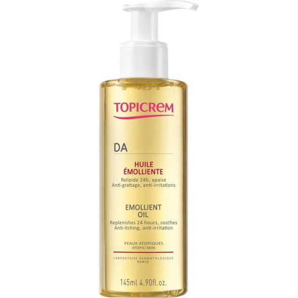 Topicrem DA Emollient Oil, 145ml