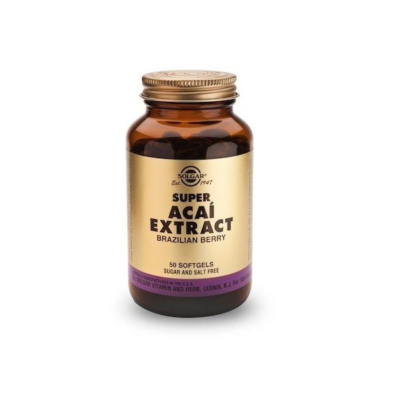 Solgar Super Acai Extract 50s