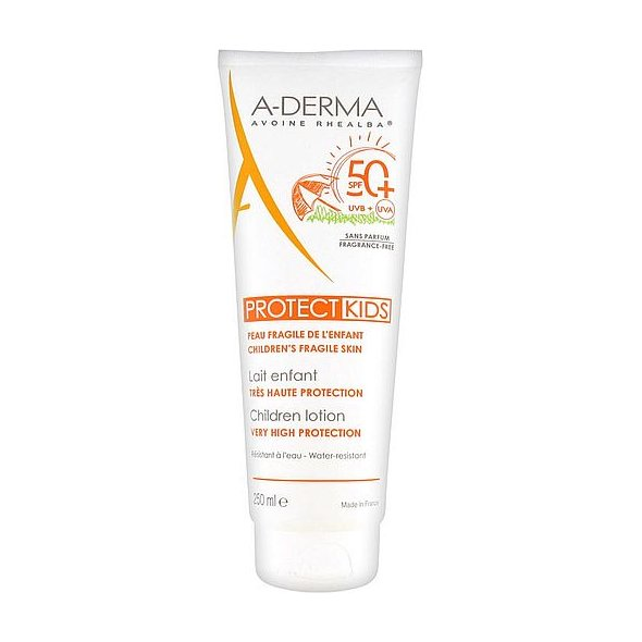 Aderma Protect Kids Children Lotion Very High Protection SPF50+, 250ml