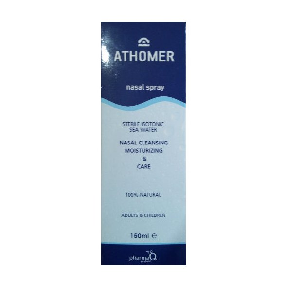 PharmaQ Athomer nasal spray, nasal cleansing moisturizing & care 150ml