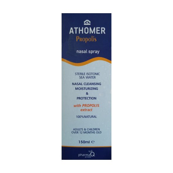 PharmaQ Athomer nasal spray, nasal cleansing moisturizing & protection propolis 150ml