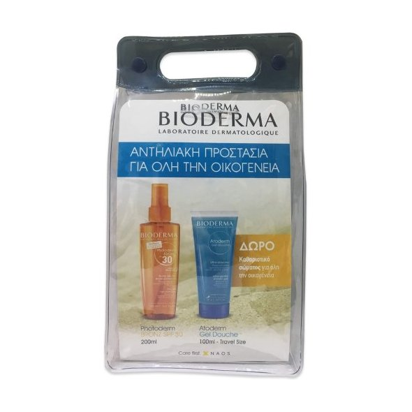 Bioderma Promo: Photoderm Bronz SPF30 Dry Oil 200ml + ΔΩΡΟ Atoderm Shower Gel 100ml