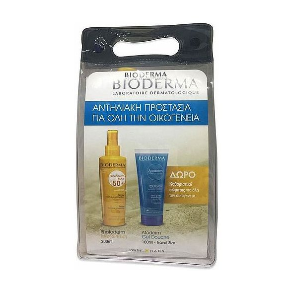 Bioderma Promo: Photoderm Max SPF50+ Spray 200ml + ΔΩΡΟ Atoderm Shower Gel 100ml