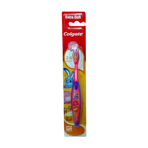 Colgate Smiles 2-6years Toothbrush Extra Soft Παιδική Οδοντόβουρτσα