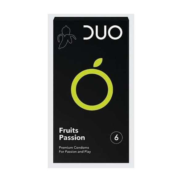 DUO Fruits Passion 6τμχ