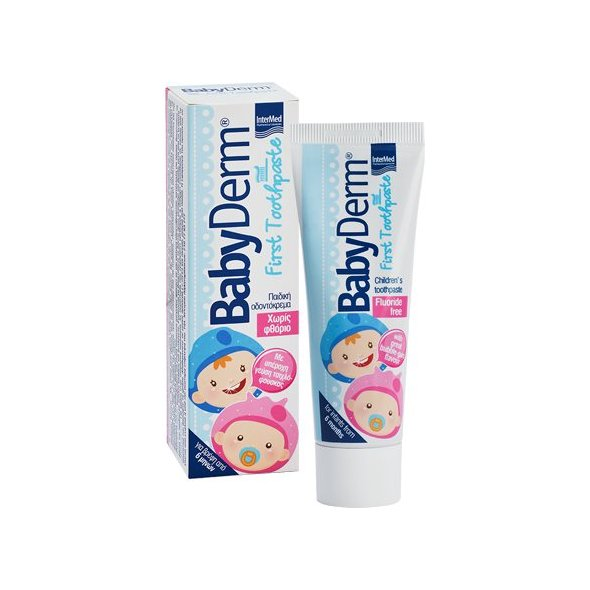 Intermed Babyderm First Toothpaste 50ml