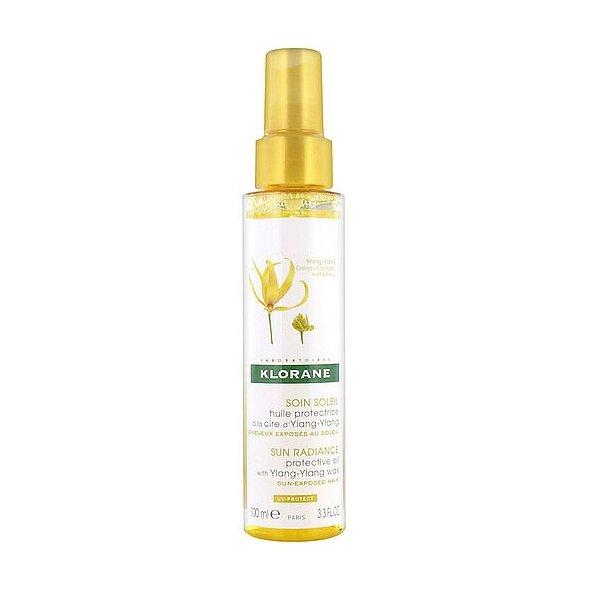 Klorane Sun Radiance Protective Oil with Ylang-Ylang Wax 100ml