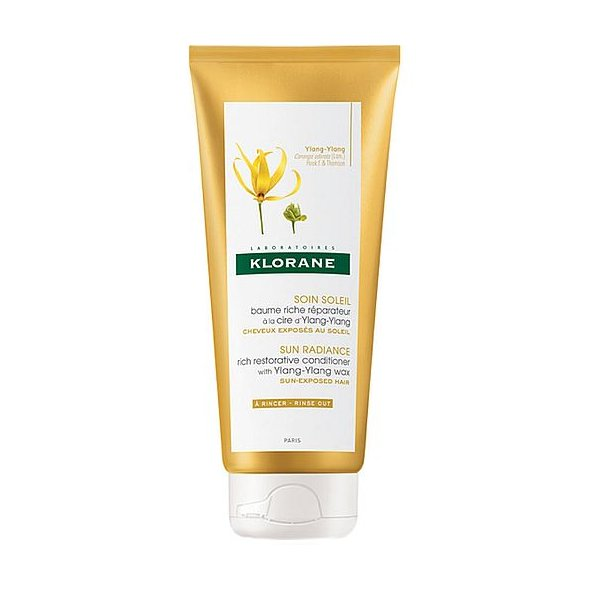 Klorane Sun Radiance Rich Restorative Conditioner with Ylang-Ylang 200ml