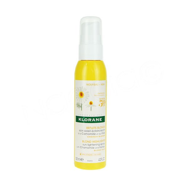 Klorane Reflets Blonds Spray With Chamomile and Honey 125ml