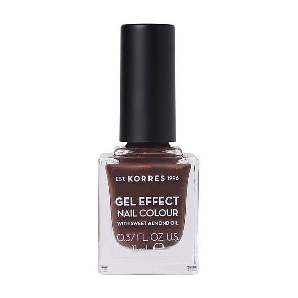 Korres Gel Effect Nail Colour Βερνίκι Νυχιών Νο 19 Seashell 11ml