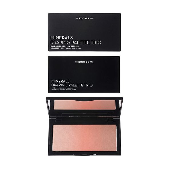 Korres Minerals Draping Palette Trio - Coral, 21g