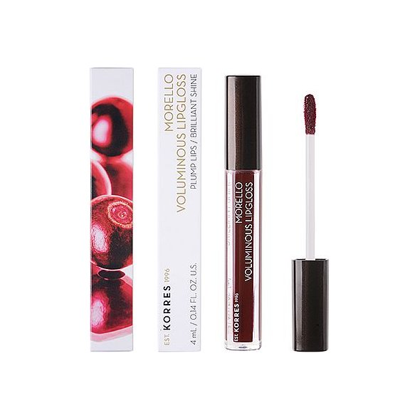Korres Morello Voluminous Lipgloss 58 Bloody Cherry, 4ml