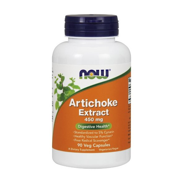 Now Artichoke Extract 450mg 90V.Caps