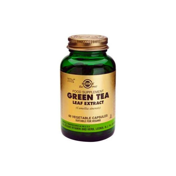 Solgar Green Tea Leaf Extract (εκχύλισμα Φύλλων Πράσινου Τσαγιού) 60v.caps