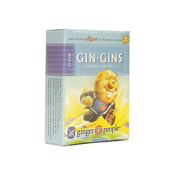 The Ginger People Gin Gins Super Καραμέλες με Τζίντζερ, 31g