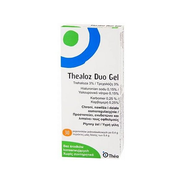 Thea Thealoz Duo Gel 30 x 0.4g