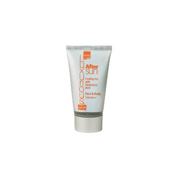 InterMed Luxurious Sun Care After Sun Cooling Gel Face and Body 150ml