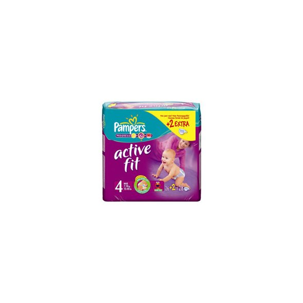PAMPERS ACTIVE FIT MAXI 24TMX