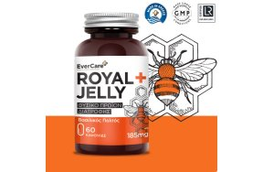 Evercare Royal Jelly 185mg, 60Caps