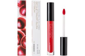 Korres Morello Matte Lasting Lip Fluid 53 Red Velvet, 3.4ml
