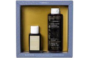 Korres Black Pepper Promo: Eau De Toilette 50ml + Showergel 250ml