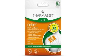 Pharmasept Aid Relief Hot Patch 5Τμχ
