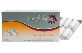 LadyBalance Prebiotic Vaginal Tablets 12Τμχ