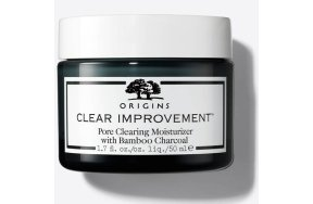 Origins Clear Improvement Oil Free Pore Clearing Moisturizer with Bamboo Charcoal, 50ml