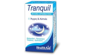 Health Aid Tranquil - Βαλεριάνα, Κράταιγος, Πασιφλόρα, Υπέρικος, 30Caps