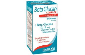 Health Aid Beta glucan Complex 30V.caps