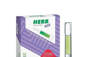 Vican Πίπες herb micro filter slim 12pcs
