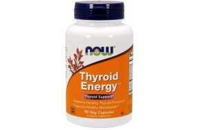 Now Thyroid Energy, 90V.Caps