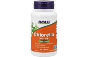 Now Chlorella 1000mg, 60Tabs