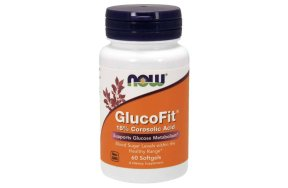Now GlucoFit, 60Softgels