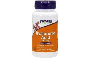 Now Hyaluronic Acid with MSM, 60V.Caps